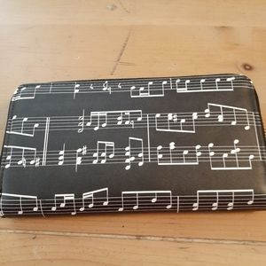 Music Note Wallet